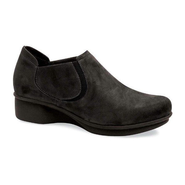 WOMEN'S LYNN BLACK BUC CASUAL SHOE Thumbnail