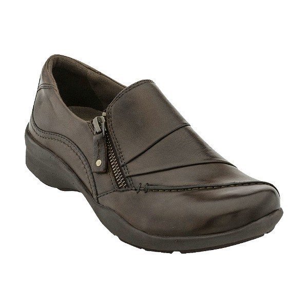 WOMEN'S ANISE BARK LEATHER CASUAL SHOE Thumbnail