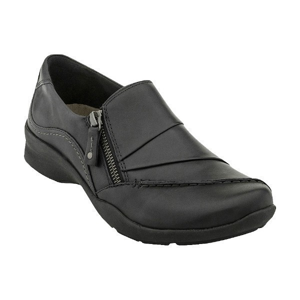 WOMEN'S ANISE BLACK LEATHER CASUAL SHOE Thumbnail