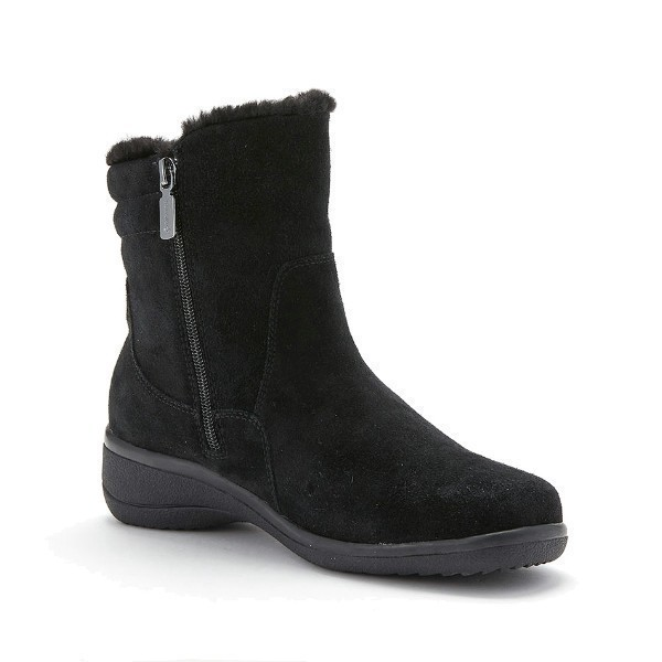 WOMEN'S SILAS BLACK SUEDE WINTER BOOT Thumbnail