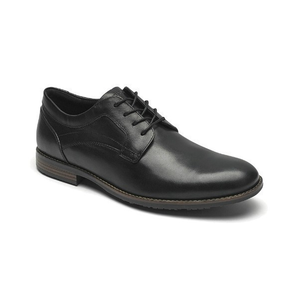 MEN'S DUSTYN PLAIN TOE BLACK DRESS LACE Thumbnail
