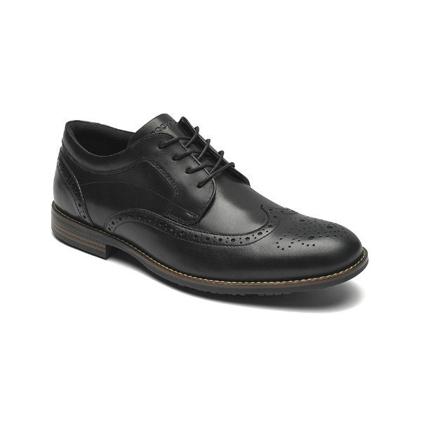 MEN'S DUSTYN WINGTIP BLACK DRESS LACE Thumbnail