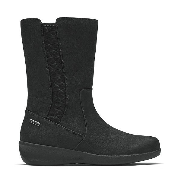 WOMEN'S FAIRLEE MID BLACK BOOT Thumbnail