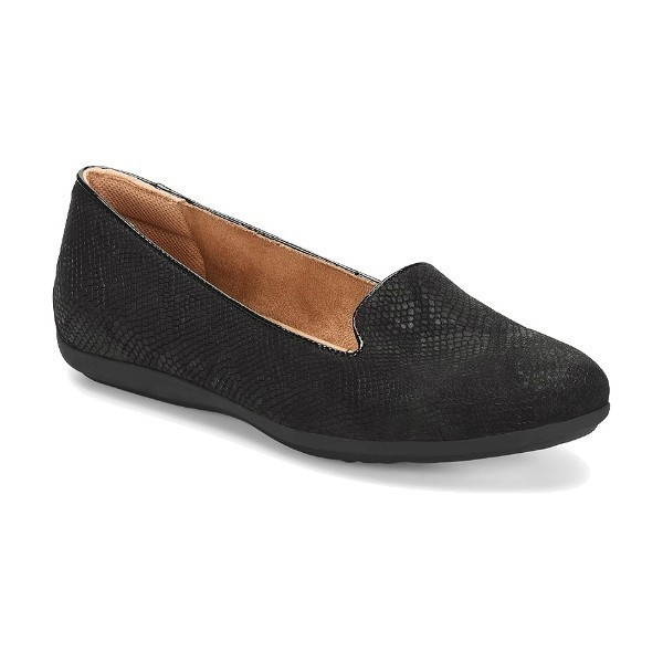 WOMEN'S MARYBETH BLACK LIZARD SLIP-ON Thumbnail