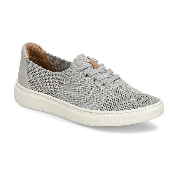 WOMEN'S TRISTA LT GREY KNIT SNEAKER Thumbnail