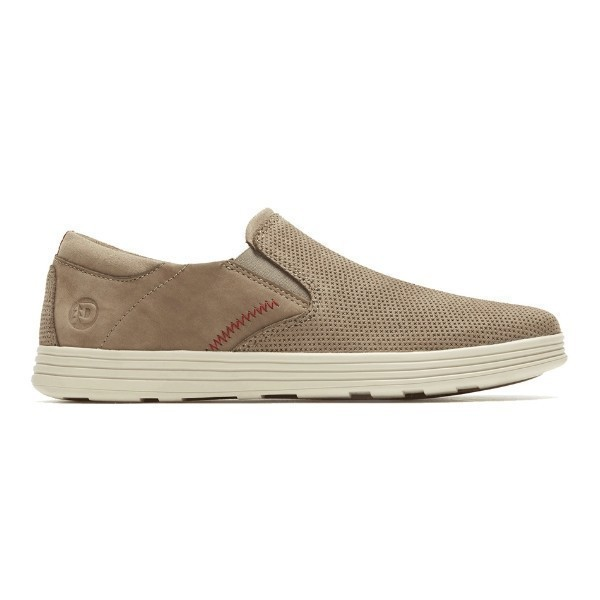 MEN'S COLCHESTER TAUPE SLIP-ON CASUAL SHOE Thumbnail