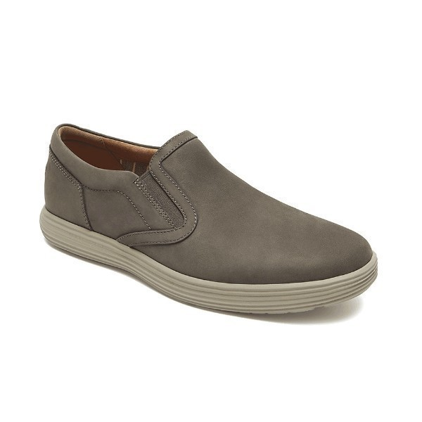 MEN'S THURSTAN GORE DARK GREY SLIP-ON Thumbnail