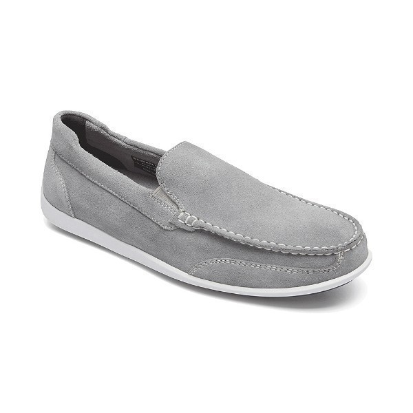 MEN'S BENNETT LANE 4 VENETIAN GREY SLIP-ON Thumbnail