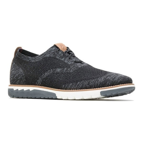 MEN'S EXPERT WINGTIP KNIT BLACK CASUAL Thumbnail