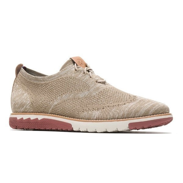 MEN'S EXPERT WINGTIP KNIT TAUPE CASUAL Thumbnail