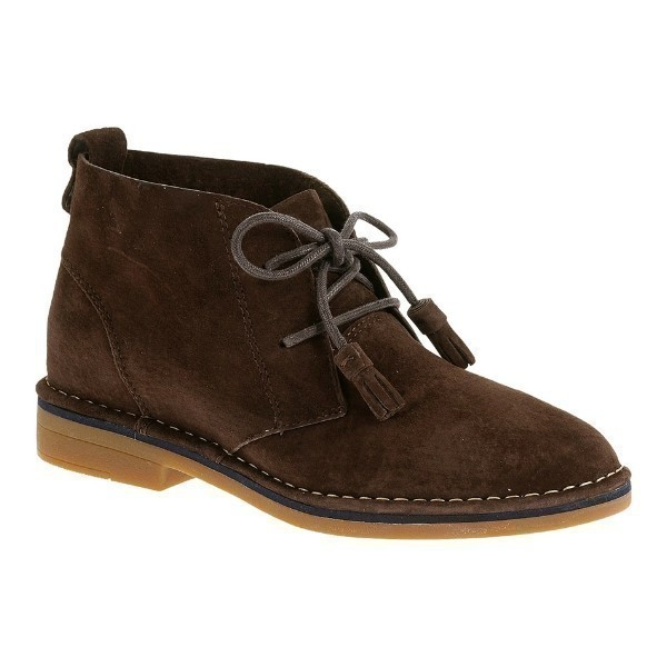 WOMEN'S CYRA CATELYN BROWN SUEDE DESERT BOOT Thumbnail