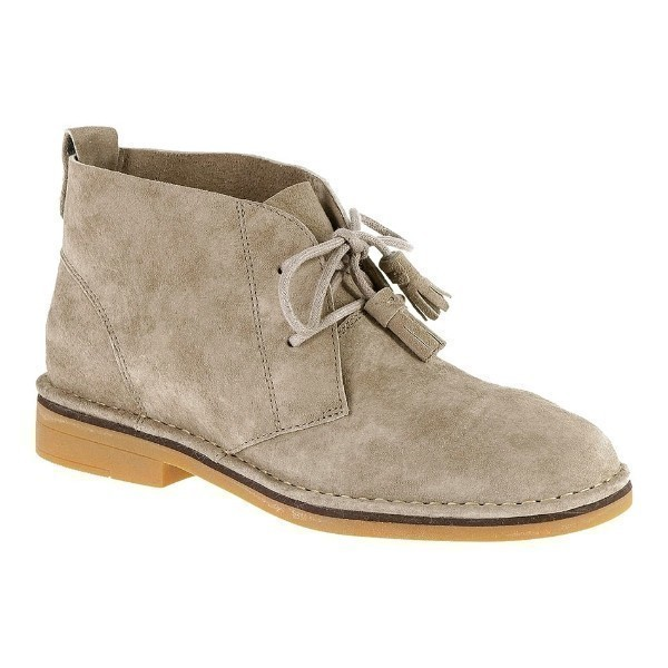 WOMEN'S CYRA CATELYN TAUPE SUEDE DESERT BOOT Thumbnail