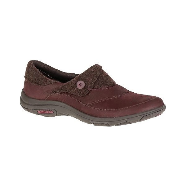 WOMEN'S DASSIE FOLD MOC ANDORRA WINE CASUAL Thumbnail