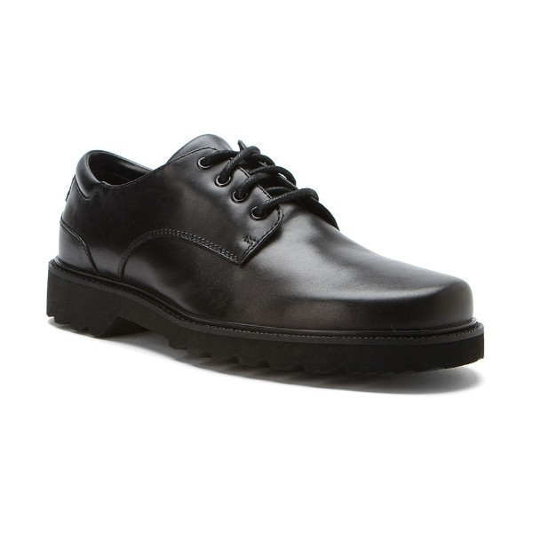 MEN'S NORTHFIELD BLACK LEATHER OXFORD Thumbnail