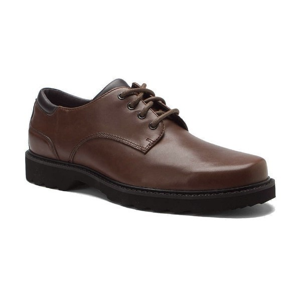 MEN'S NORTHFIELD DK BROWN LEATHER OXFORD Thumbnail
