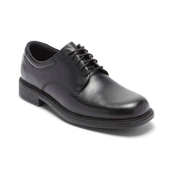 MEN'S MARGIN BLACK LEATHER DRESS OXFORD Thumbnail