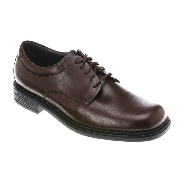 MEN'S MARGIN CHOCOLATE LEATHER DRESS OXFORD Thumbnail