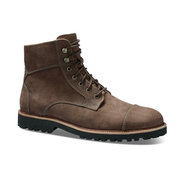 MEN'S UPTOWN MAVERICK BROWN NUBUCK BOOT Thumbnail