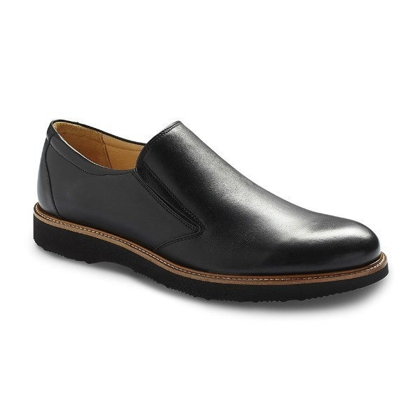 MEN'S FREQUENT TRAVELER BLACK DRESS SLIP-ON Thumbnail