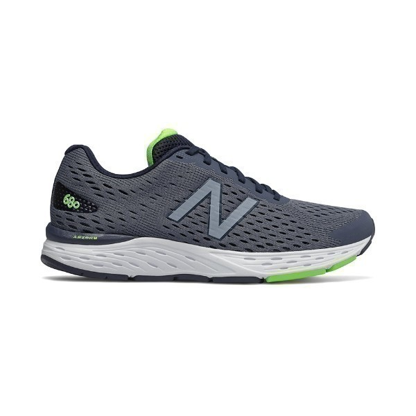 MEN'S M680LN6 GRAY/NAVY RUNNER Thumbnail