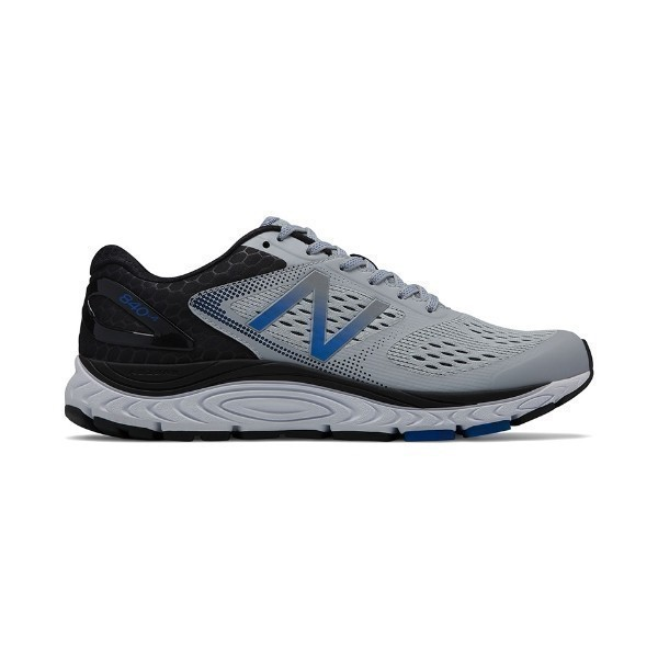 MEN'S M840GB4 SILVER MINK/BLUE RUNNER Thumbnail