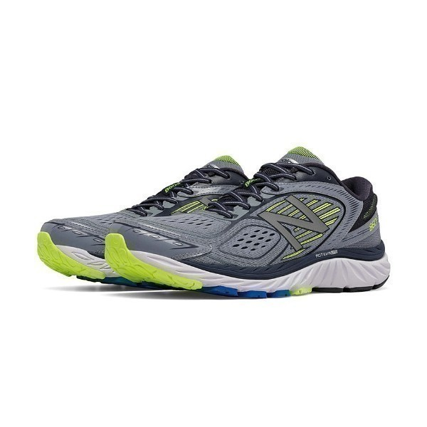 MEN'S M860GY7 GREY/YELLOW RUNNER Thumbnail