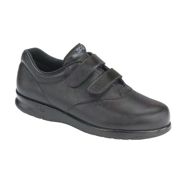 WOMEN'S ME TOO BLACK LEATHER COMFORT WALKER Thumbnail