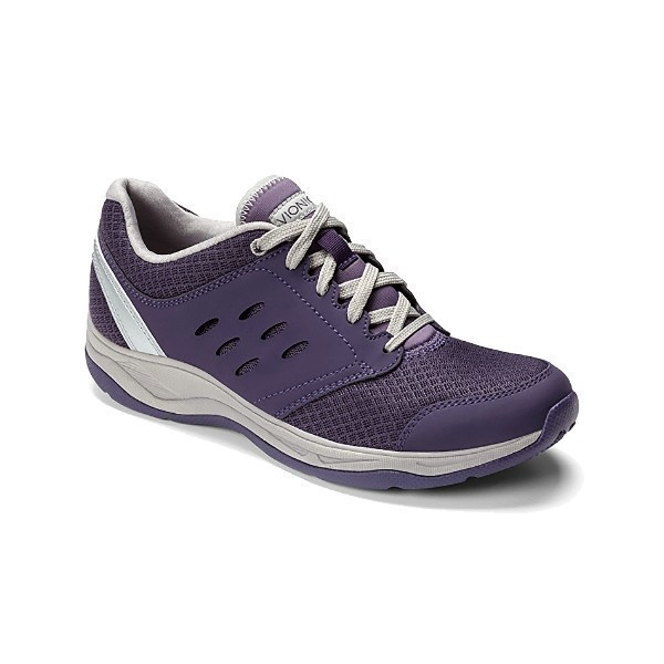WOMEN'S MOTION VENTURE PURPLE MESH SNEAKER Thumbnail
