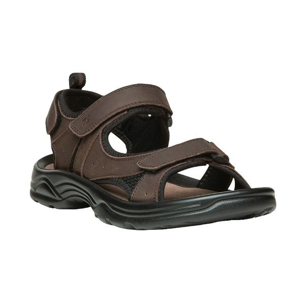 MEN'S DAYTONA BROWN ADJUSTABLE STRAP SANDAL Thumbnail
