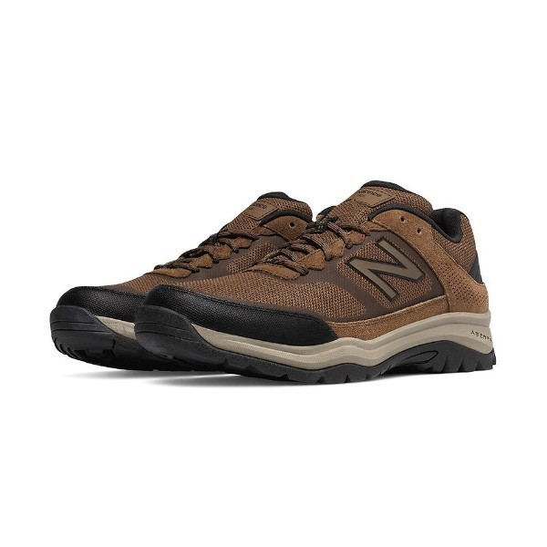 MEN'S MW669BR BROWN TRAIL WALKING Thumbnail