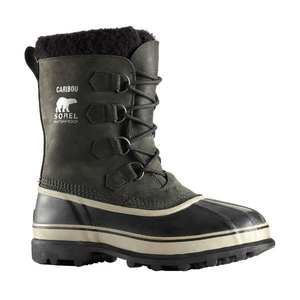 MEN'S CARIBOU BLACK WATERPROOF WINTER BOOT Thumbnail
