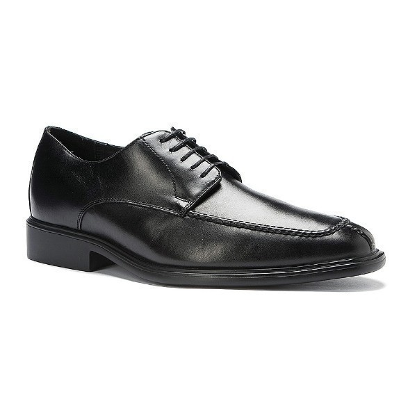 MEN'S PRESIDENT BLACK LEATHER DRESS LACE-UP Thumbnail