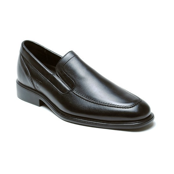 MEN'S CHANCELLOR BLACK LEATHER SLIP-ON Thumbnail