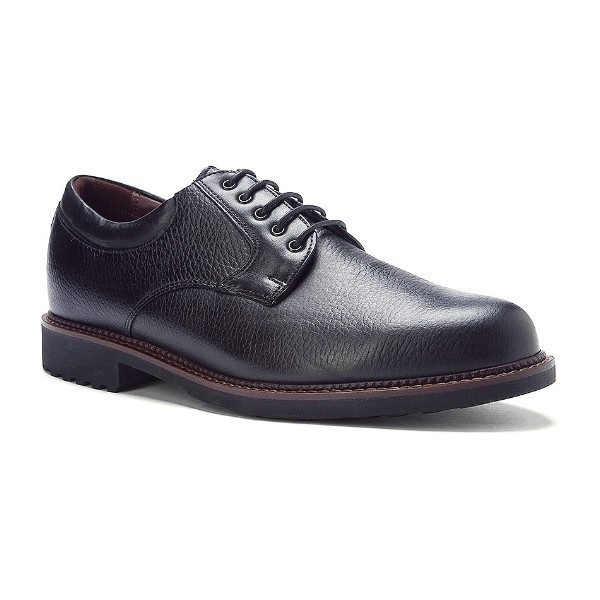 MEN'S WYNNE BLACK LEATHER OXFORD Thumbnail