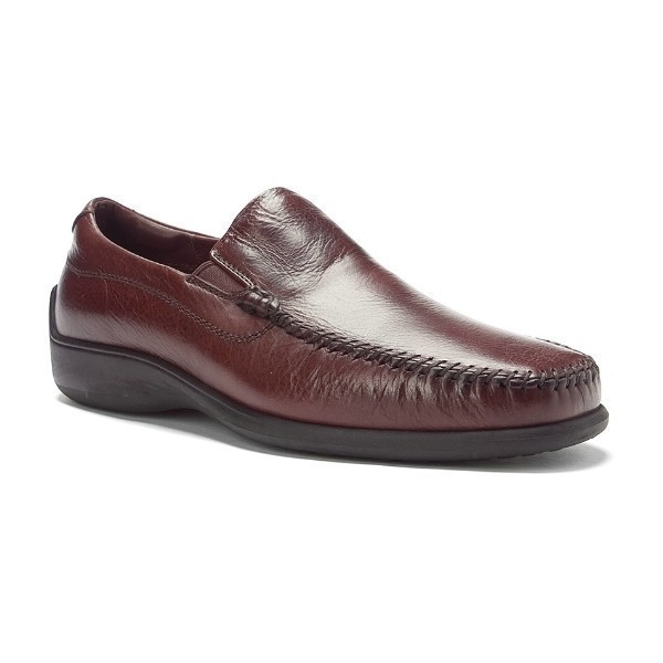 MEN'S ROME WALNUT LEATHER DRESS LOAFER Thumbnail