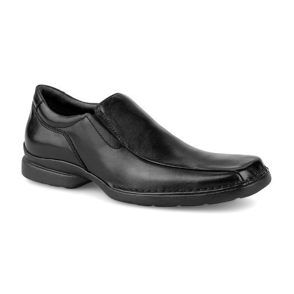 MEN'S PUNCHUAL BLACK BIKE TOE DRESS SLIP-ON Thumbnail