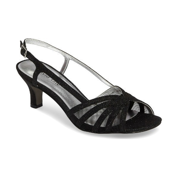 WOMEN'S RITZ BLACK GLITZ EVENING SHOE Thumbnail