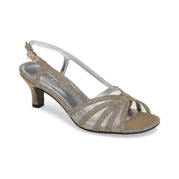 WOMEN'S RITZ GOLD GLITZ EVENING SHOE Thumbnail