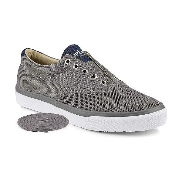 MEN'S STRIPER LL CVO KNIT GREY BOAT SHOE Thumbnail