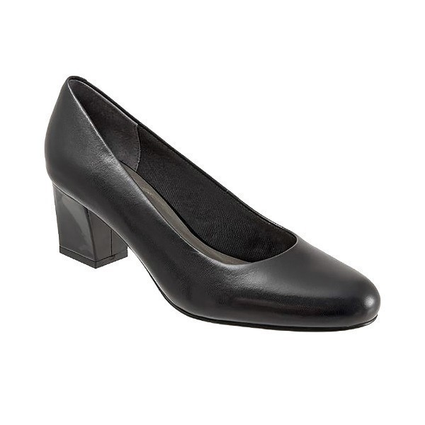 WOMEN'S CANDELA BLACK KID PUMP Thumbnail