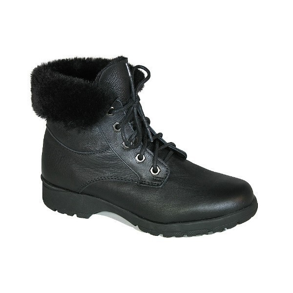 WOMEN'S MINNESOTA 2 BLACK LACE WINTER BOOT Thumbnail