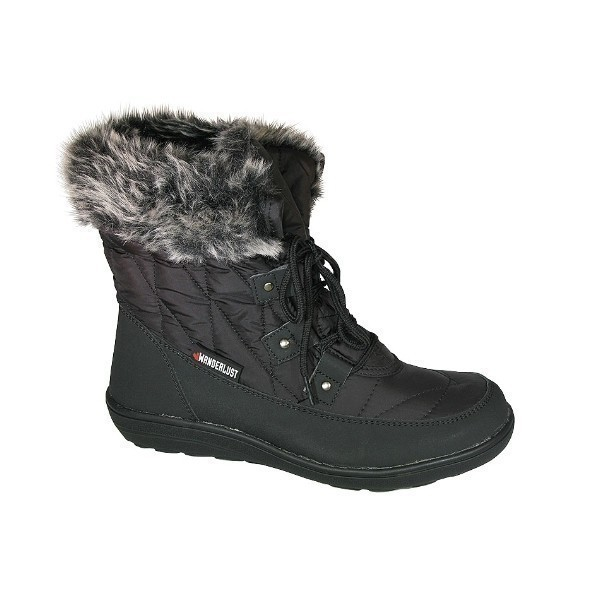WOMEN'S SNOWFLAKE BLK WATERPROOF WINTER BOOT Thumbnail