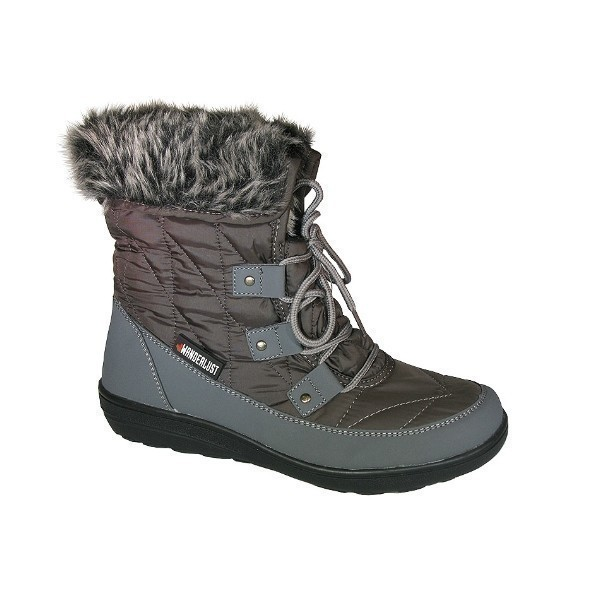 WOMEN'S SNOWFLAKE GRY WATERPROOF WINTER BOOT Thumbnail