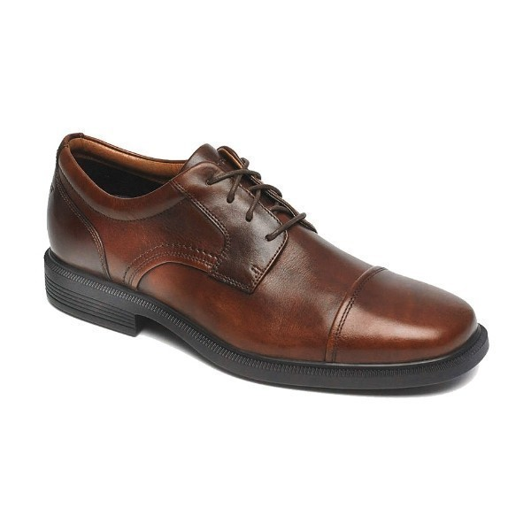 MEN'S DRESSPORTS LUXE CAP TOE BROWN OXFORD Thumbnail