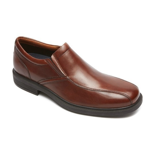 MEN'S DRESSPORTS LUXE BIKE TOE BROWN SLIP-ON Thumbnail