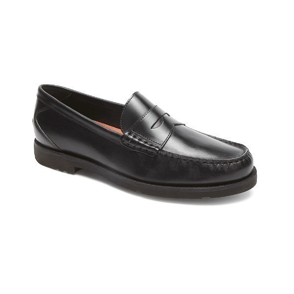 MEN'S MODERN PREP BLACK PENNY LOAFER Thumbnail