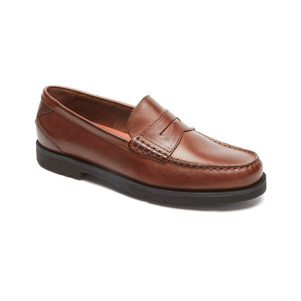 MEN'S MODERN PREP TAN PENNY LOAFER Thumbnail