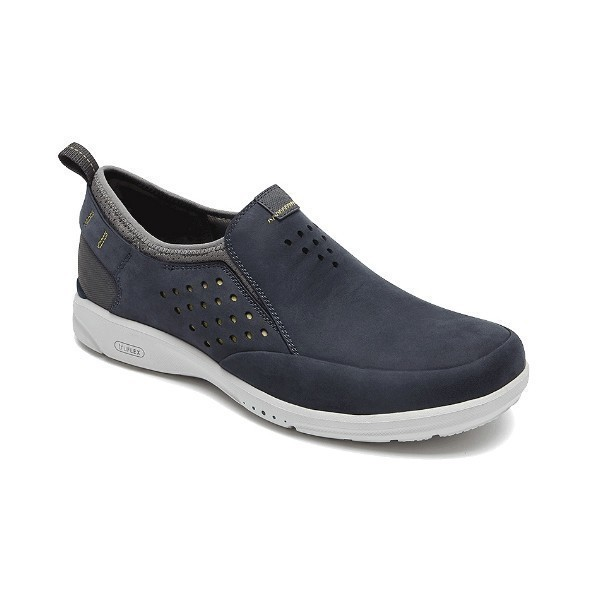 MEN'S TRUEFLEX SLIP ON BLUE CASUAL SHOE Thumbnail