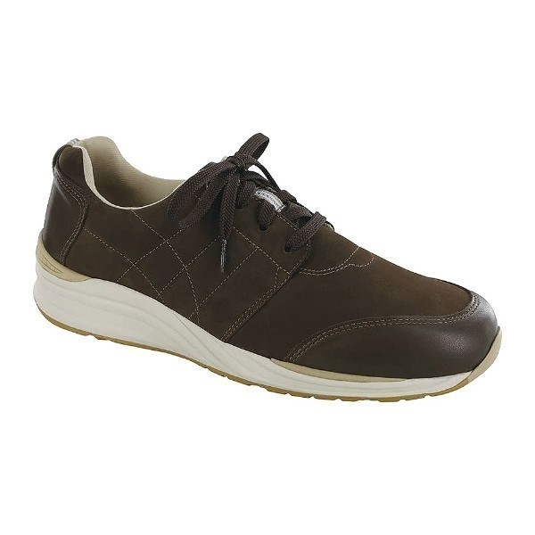 MEN'S VENTURE TURF/COFFEE LEATHER LACE CASUAL Thumbnail