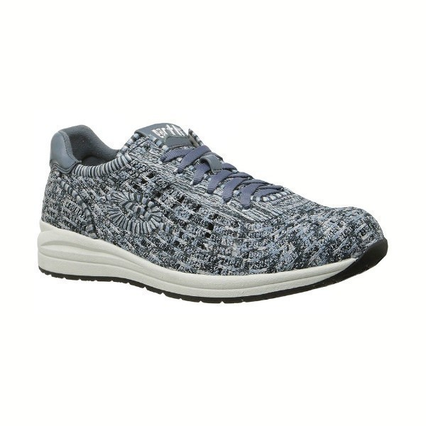 WOMEN'S VITAL DUSTY BLUE FABRIC SNEAKER Thumbnail